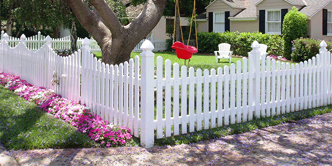 Vinyl Picket Fence Elk Grove CA