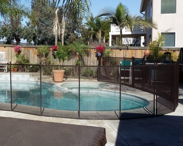 removeable pool_fence_Elk Grove CA